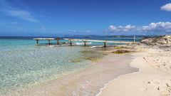 Formentera är en lugn och frodig ö.