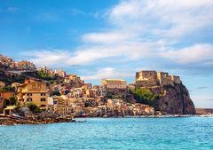 Castle Scilla, Sicilien