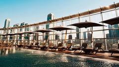Armani Hotel Dubai ligger i världens högsta byggnad.