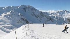 Les Deux Alpes, Frankrike.