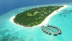 På Maldiverna har varje resort sin egen privata ö.