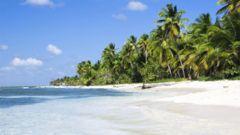 Paradis-stränder på Sri Lanka.