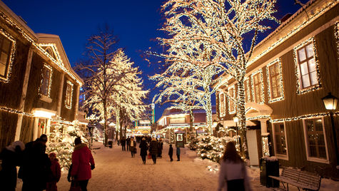 Mys för hela familjen på Lisebergs julmarknad