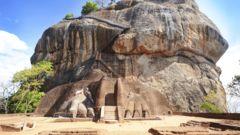 Lejonets berg på Sri Lanka är UNESCO-listat.