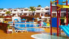 Flamingo Beach Resort på Lanzarote.